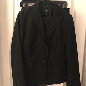 J Crew 3 piece suit. Jacket, pants and skirt.